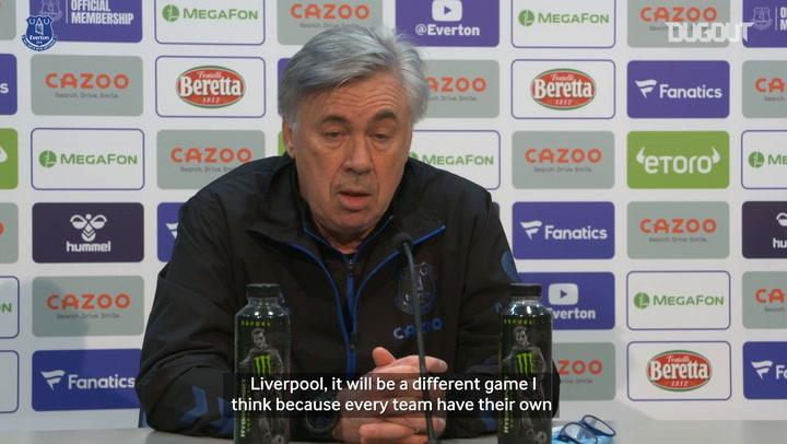 Ancelotti previews 'special' Merseyside Derby