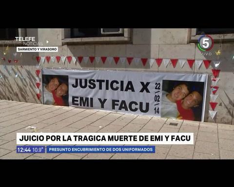 Dos policías son juzgados por ocultar pruebas de un siniestro en el que murieron dos chicos