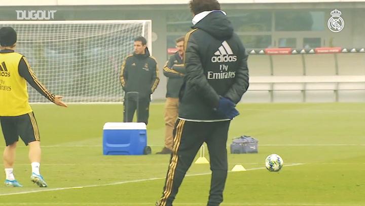 Real Madrid'de Club Brugge hazırlığı!