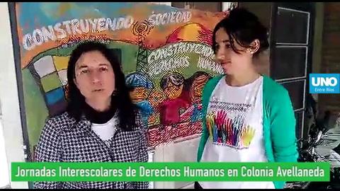 Escuelas secundarias debatieron sobre Derechos Humanos