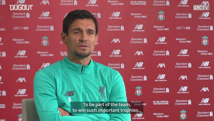 Lovren: 'Patience has paid off with Liverpool project'