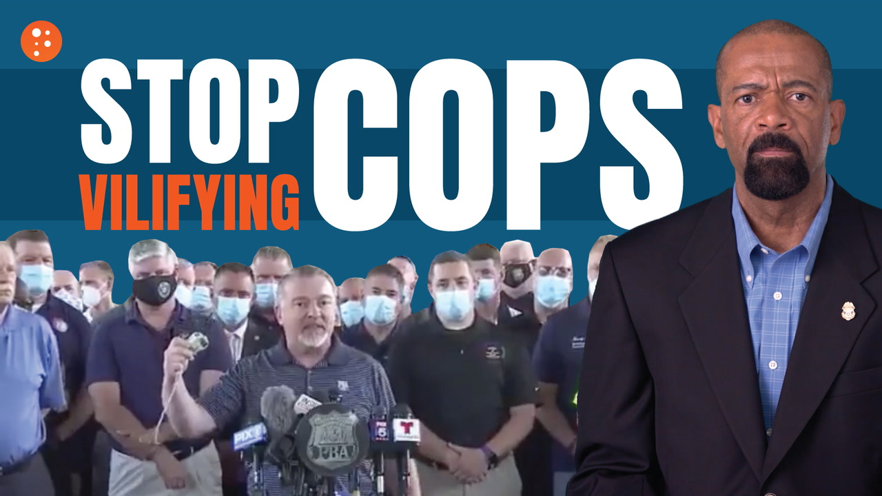 Police Union Leader: Stop Vilifying Cops