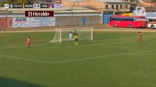 Real de Minas derrota 3-0 al Vida de La Ceiba en el Estadio Marcelo Tinoco