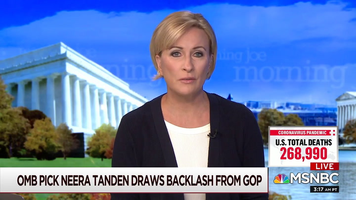 Brzezinski: GOP 'Hypocrites' Who Ignored Trump's Racist Tweets Can't Use Tweets Against Biden Nominee