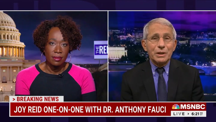 Fauci: Fully Vaccinated People 'Could Go to' Indoor Restaurants, But 'You Want to Be Careful' if There's High Infection Rate in Community