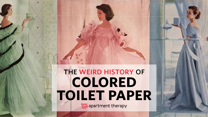 Colored Toilet Paper History What