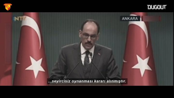 Göztepe Taraftarlarının Yeni Yılını Kutladı
