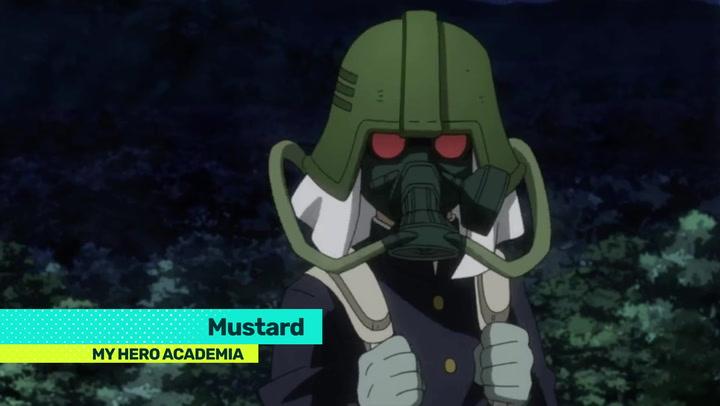 Mustard   My Hero Academia Wiki   FANDOM powered by Wikia