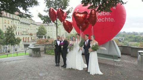 Suiza da un sí rotundo al matrimonio homosexual en un referéndum