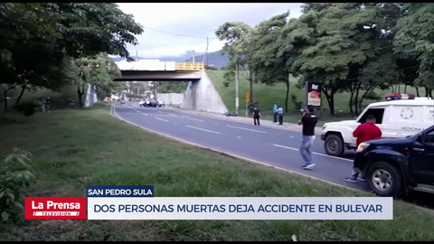 Un muerto deja accidente en bulevar de San Pedro Sula