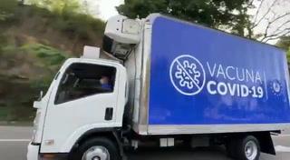 Salen de El Salvador las vacunas donadas a siete municipios de Honduras