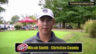 Smith Recaps Region Golf Round