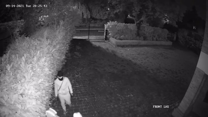 Reece James posts CCTV footage of house being robbed during Chelsea match