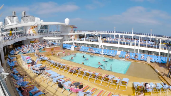 Harmony Of The Seas Pool And Sports Zone
