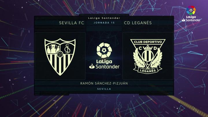Resumen 90' Sevilla FC - CD Leganés J15