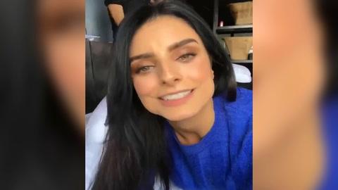 Aislinn Derbez le responde a sus fans que quieren que se opere su nariz