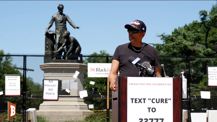 Monument Defender: Nearly 400,000 Men Died to Free Strangers, We Owe It to Them