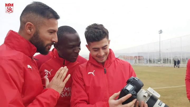 Sivasspor'un Adana Demirspor Hazırlıkları