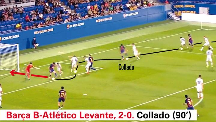 Un gol de Álex Collado, elegido como el mejor de toda la 2ª B