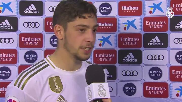 Fede Valverde habla tras su gran actuación ante el Granada