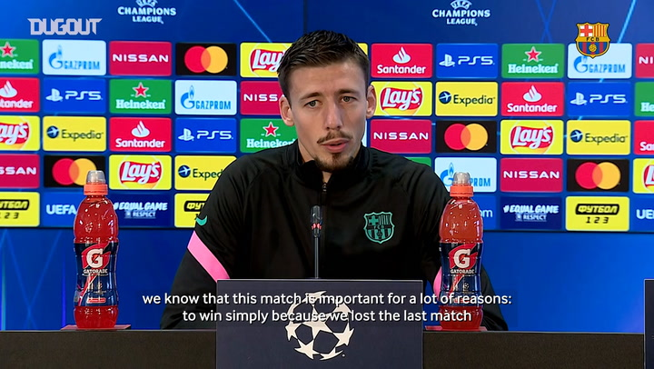 "Clement Lenglet: ""We want to get the best result"""