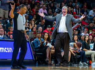 Aces coach Bill Laimbeer Blames Laziness, Lack of Energy for Loss – Video
