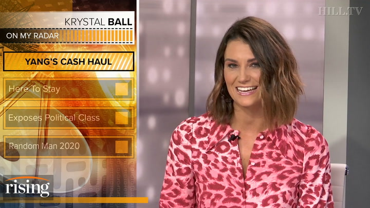 Krystal Ball on Yang's fundraising haul: 'Even a random man has a shot at the Oval Office'