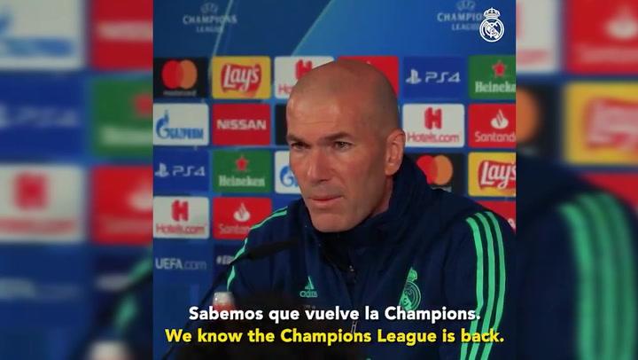 Sabemos que vuelve la Champions