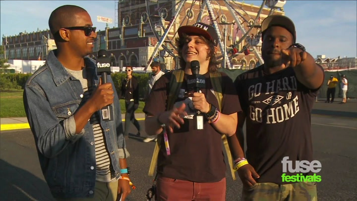 Festivals:Bamboozle: Bamboozle 2012 Moosh & Twist on New Mixtape, Tour