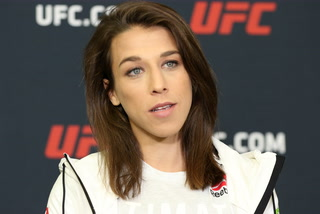 Joanna Jedrzejczyk explains her intent with gas mask meme – VIDEO