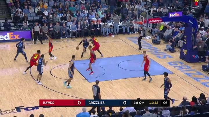 Jonas Valanciunas jugador destacado de la jornada de la NBA (07/03/2020)