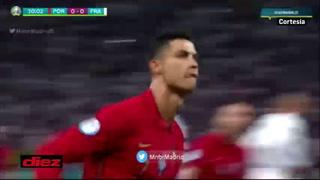 ¡Drama! Benzema concreta su doblete y Francia está eliminando a la Portugal de Cristiano