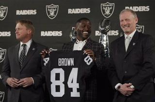 Antonio Brown Raiders Press Conference Highlights – VIDEO