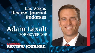 Las Vegas Review-Journal endorses Adam Laxalt for governor