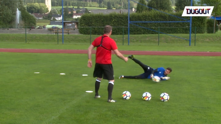 Training With Ben Foster