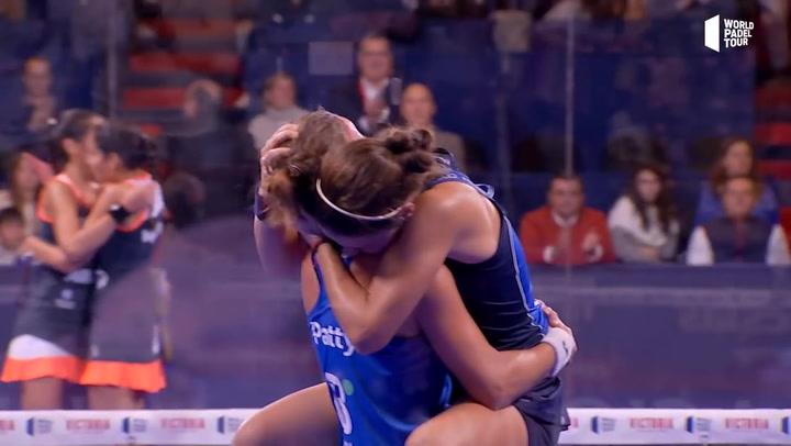 Resumen de la semifinal femenina Patty/Eli Vs Mapi/Majo del Cervezas Victoria Córdoba Open