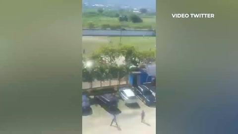 Integrantes de las barras de Olimpia y Marathón se enfrentaron a disparos