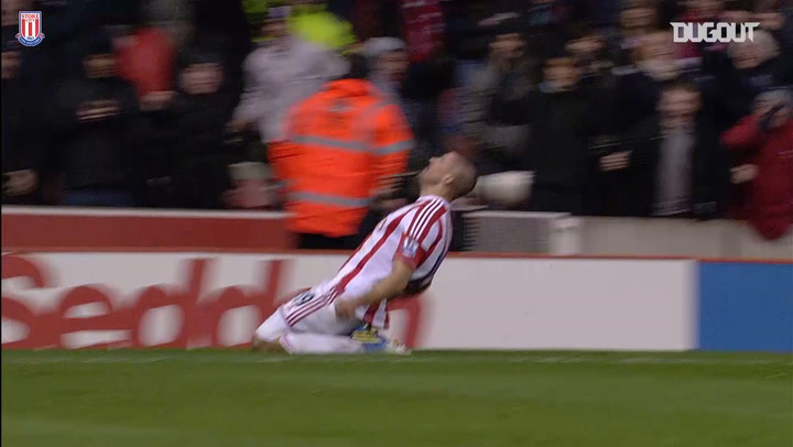 Stoke overcome Newcastle with late show