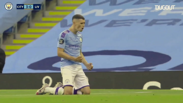Phil Foden's rise through Man City's ranks