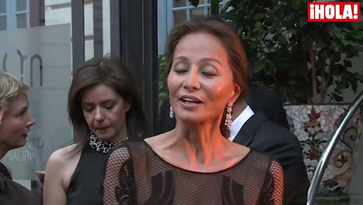 Isabel Preysler: \'Enrique Solís es estupendo, simpático y  muy buen amigo de Tamara\'