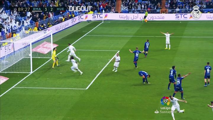 Karim Benzema's Last-Gasp Winner Vs Huesca