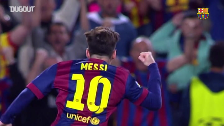 All Messi's goals against Bayern München
