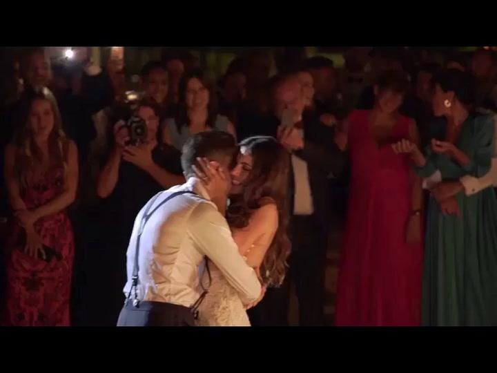 Marc Bartra y Melissa Jiménez, una preciosa historia de amor