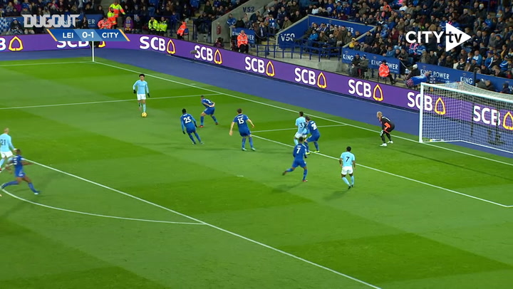 De Bruyne scores incredible long-range effort to down Leicester