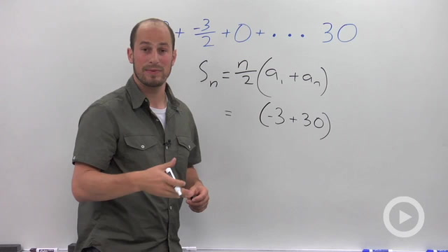 Arithmetic Series - Problem 2
