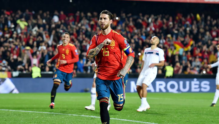 El once de la selección española para medirse a Malta