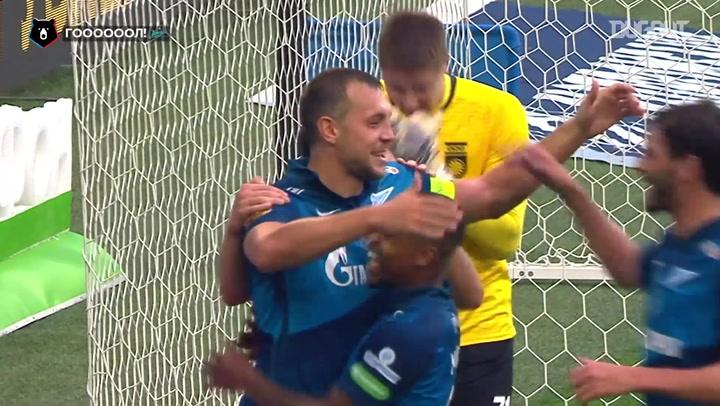 Artem Dzyuba's glorious hat-trick against Ufa