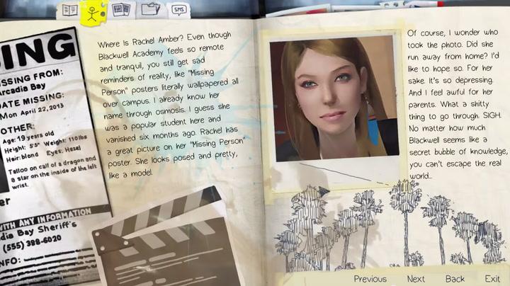 Rachel Amber Life Is Strange Wiki Fandom Powered By Wikia