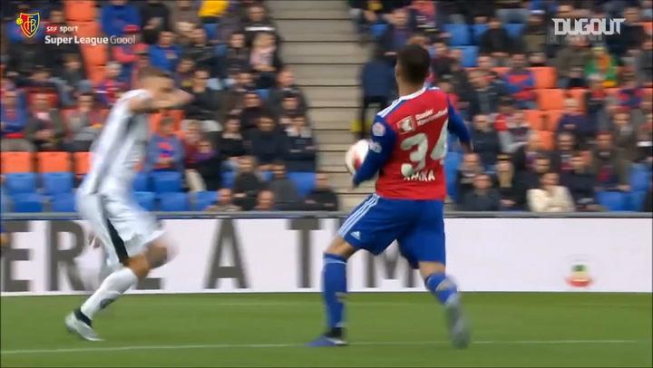 Raiffeisen Super League Highlights: FC Basel 1893 3-2 FC Lugano
