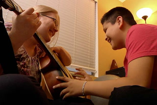 Therapist uses the power of music for physical and emotional issues